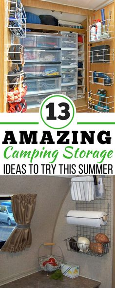 734 Best Camping Storage Images