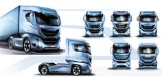 IVECO S-WAY, IN PRAISE OF POWER - Auto&Design Truck Design, Auto Design, Alloy Wheel, Design Process, Trucks, Tractor, Motorcycles, Wheels, Concept