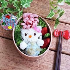 Hello Kitty Fancy Bow Bento | 25 Hello Kitty Foods That Are Almost Too Adorable To Eat