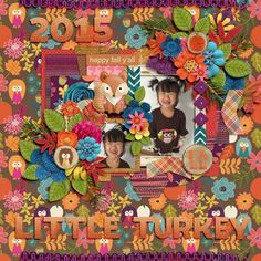 Layout using {Fall Flock} Digital Scrapbook Collection by Clever Monkey Graphics available at Gingerscraps http://store.gingerscraps.net/fallFlock-by-Clever-Monkey-Graphics.html #clevermonkeygraphics