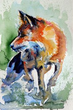 As belas e coloridas pinturas em aquarela de Anna Brigitta Kovács                                                                                                                                                      Mais