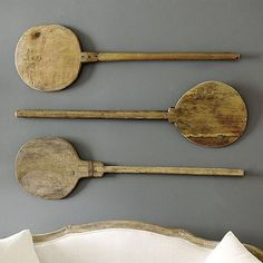 Vintage French Bakers Paddle