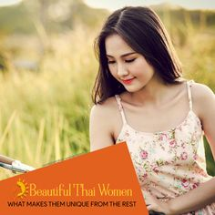 There's no doubt that Thai women are beautiful, sweet, and reserved. Learn more about the qualities that make them admirably unique from the rest! Thai Dating, Latin Women, Types Of Women, Woman Standing, Single Women, Love And Marriage, Just Go, Thailand, Rest