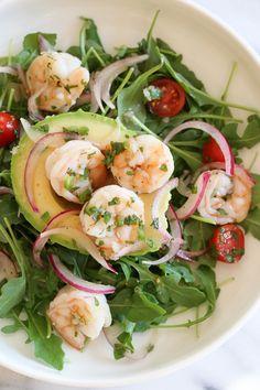 Shrimp Ceviche and Avocado Salad