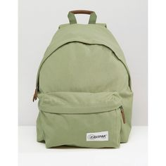 Eastpak Padded Pak r Backpack in Moss Green ( 76) ❤ liked on Polyvore 6655acfa56803