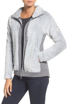 North Face Furry Fleece in High Rise Grey ($129.27 CAD)   Nordstrom