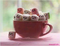 Emoji marshmallows!