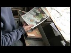 Ukiyoe Heroes (14) : Fox Moon - proof printing  The fourth episode in the series documenting the production of woodblock prints, this one shows the first proof copy.  - you see the pigments being brushed onto the wood, and the paper being rubbed, exactly as it really happens while making a print.