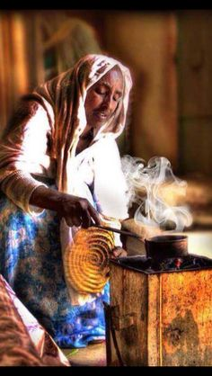 Coffee ceremony #Eritrean #Eritrea | Coffeelovers | Cupkes | COFFEEbars and shops | tafelstyling | stylishbars | MOOIEKOFFIE | Café Latte | ESPRESSO | CAPPUCCINO | BARISTA | COFFEE | COFFEEcountries| pinned by http://www.cupkes.com/