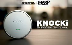 Knock! Knock! Who's there?  Knocki! The World's First 'Smart' Remote. Check here: http://kck.st/23VVsc6
