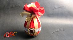 DIY Wedding shagun nariyal packing How to make Coconut Decoration JK Wedding 010 Wedding shagun nariyal packing Click the link for Online Material purchase Wedding Gift Baskets, Wedding Gift Wrapping, Indian Wedding Gifts, Indian Wedding Decorations, Desi Wedding Decor, Wedding Crafts, Diy Wedding, Wedding Tips, Coconut Decoration