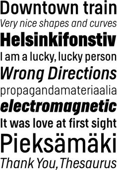 LudwigType | High quality fonts and custom type design