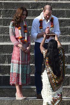 Prince William, Duke of Cambridge and Catherine, Duchess of Cambridge Visit India and Bhutan - Day 1 on April 10, 2016 in Mumbai, India.