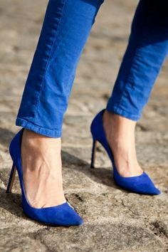 A Stiletto Pump — Though the pump might take feats of balance you might not think you have in you, it's a footwear staple that's worth training for. There's nothing more badass than a woman who can walk tall in a pair of stiletto pumps — so keep practicing!
