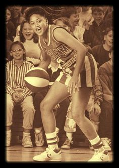 Women on the Harlem Globetrotters: Candy Lucas
