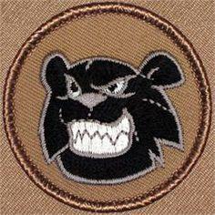Black Bear/Panther Patrol Patch (#488)