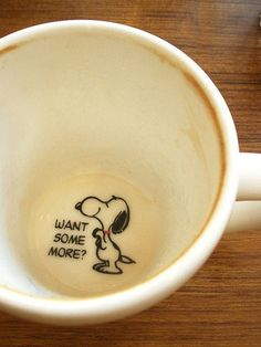 Snoopy Cup