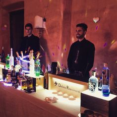 Open bar from Delizia ricevimenti - castello di Meleto