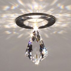 Lighting to make your bathroom ceiling sparkle.