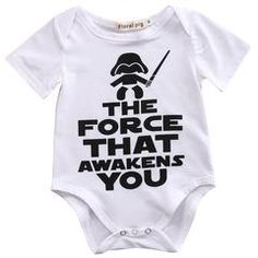 The Force That Awakens You Baby Bodysuit