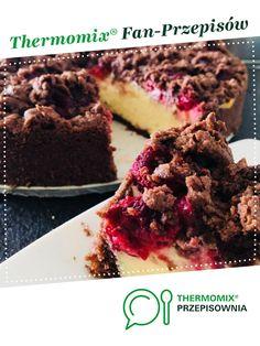 Sernik z owocami jest to przepis stworzony przez użytkownika aniaqq. Ten przepis na Thermomix<sup>®</sup> znajdziesz w kategorii Słodkie wypieki na www.przepisownia.pl, społeczności Thermomix<sup>®</sup>. Food And Drink, Cakes, Thermomix, Cooking, Cake Makers, Kuchen, Cake, Pastries, Cookies