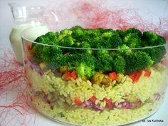 Smaczna Pyza: Sałatka ryżowa z kurczakiem i warzywami - http://smacznapyza.blogspot.com/2012/02/imprezowo.html