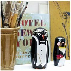 インテリア雑貨 北欧雑貨!ペンギンファミリー♪(3)