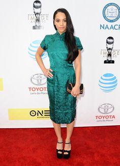 Actress Bianca Lawson attends the 48th NAACP Image Awards at Pasadena Civic Auditorium on February 11, 2017 in Pasadena, California. (Photo by Jason LaVeris/FilmMagic)