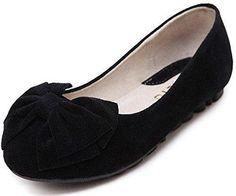Oferta: 9.63€. Comprar Ofertas de Minetom Mujer Primavera Otoño Dulce Estudiante Mocasines Punta Redonda Bowknot Bailarinas Zapatos Mocasín Negro EU 40 barato. ¡Mira las ofertas!