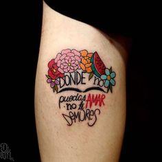 Frida twins by Frida Tattoo, Frida Kahlo Tattoos, Rose Tattoos, New Tattoos, Small Tattoos, Mexico Tattoo, Mexican Art Tattoos, Badass Tattoos, Celtic Tattoos