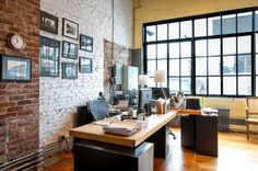 Industrial Style Home Office, Seattle