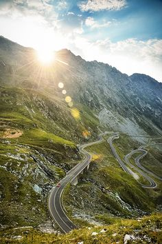 Everyone on the bus was puking... except me! Transfagarasan Highway, Romania  (by Dean Smith )