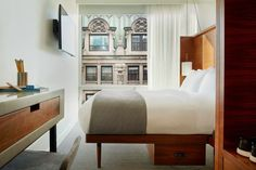 """One month after launching its first property in NYC's Hudson Square area, micro hospitality chain Arlo Hotels is doing it up once again by launching a second property a few blocks north in the Nomad Area. Dubbed """"Arlo NoMad,"""" the smaller property features 250 designed rooms and a mid-century modern aesthetic. The rooms slightly vary …"""