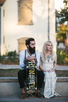SUPER SMOKIN SKATER STYLE WEDDING INSPIRATION. PHOTOGRAPHY BY MORAN MAYAN: https://www.facebook.com/pages/%D7%9E%D7%95%D7%A8%D7%9F-%D7%9E%D7%A2%D7%99%D7%9F-Moran-Mayan-Photography-/116507138378147