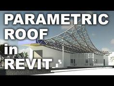 Parametric Roof in Revit Tutorial Parametric Architecture, Parametric Design, Architecture Portfolio, Architecture Details, Architecture Diagrams, Autocad, Learn Revit, Urban Analysis, Civil Engineering