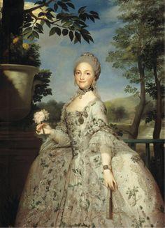 Mengs, Anton Rafael María Luisa de Parma, princesa de Asturias 1765