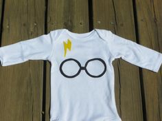 Harry Potter baby outfit childrens clothing by HatchersHipsters
