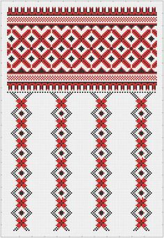 Геометричне Cross Stitch Heart, Cross Stitch Borders, Cross Stitch Designs, Cross Stitching, Cross Stitch Patterns, Blackwork Embroidery, Folk Embroidery, Cross Stitch Embroidery, Machine Embroidery Designs