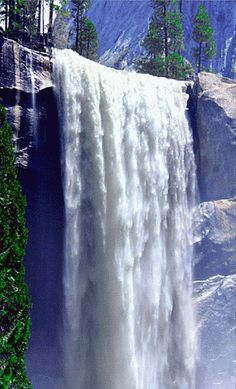Love this water fall A collection of CLICK ON THE PICTURE (gif) AN WATCH IT COME TO LIFE. ...♡♥♡♥Love it