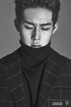MONSTA X's Jooheon. 'Hero' album concept photographs.