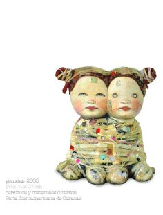 Double Headed Dolls - Mariana Monteagudo Makes Unique Toys (GALLERY)