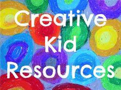 creative kid resources from Artchoo.com