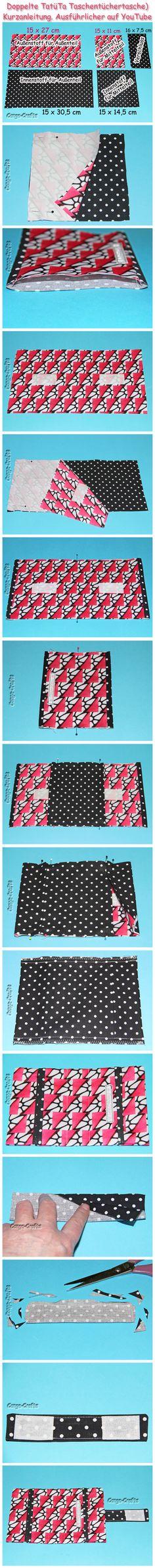 48 besten Nähen - Taschentücherbox Bilder auf Pinterest | Sewing ...