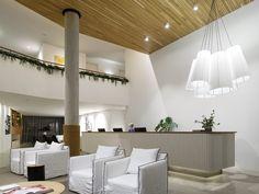 Interiors | alwill  #foyer 3hotel #interiors #pendant #wood
