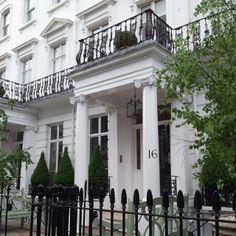 Number Sixteen, South Kensington.  16 Sumner Place, London. I loved this hotel, especially my tiny room, number 305.