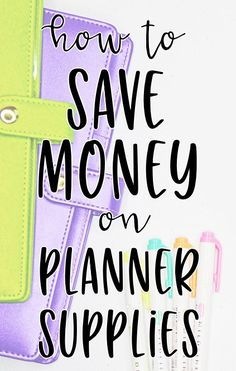 to Save Money on Planner Supplies How to Save Money on Planner Supplies - Tips and tricks for getting the most out of your planner budget!SAVE SAVE may refer to: Money Planner, College Planner, Planner Tips, Planner Supplies, Planner Pages, Happy Planner, College Tips, Weekly Planner, Planner Stickers