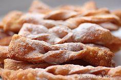 traditional Croatian cookies!  pohance! or angel wings