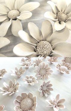 Image result for ceramic flower art