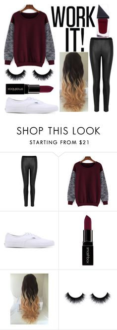 """Untitled #27"" by cenilsen7 ❤ liked on Polyvore featuring moda, L.K.Bennett, Vans, Smashbox ve GUiSHEM"