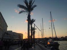 Brindisi porto #brindisi #port #italia #italy #puglia #sunset